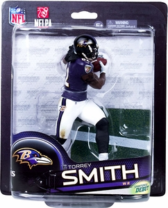 McFarlane Toys NFL Sports Picks Series 33 Action Figure Torrey Smith (Baltimore Ravens)