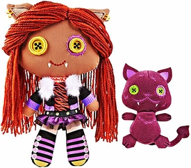 Monster High Friends Deluxe Plush Doll Figure Clawdeen & Crescent