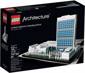 LEGO Architecture Set #21018 United Nations Headquarters