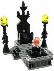 LEGO Lord of the Rings LOOSE Terrain Seat of Isegard with Palantir