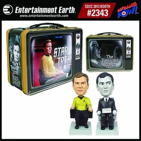 Star Trek Twilight Zone Monitor Mate Tin Tote Gift Set Pre-Order ships October