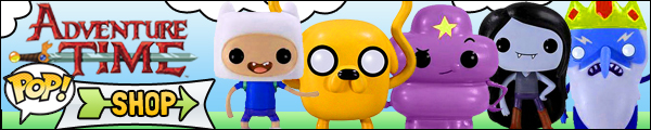 Funko Pop Adventure Time with Finn and Jake