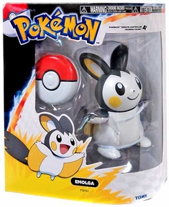 Pokemon TOMY RC Remote Controlled Training Figure Emolga