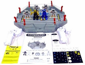 Battroborg Battling Robot Arena Black / Gold Vs. Blue