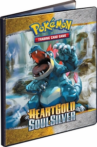 Ultra Pro Pokemon Card Supplies 9-Pocket Binder Heartgold Soulsilver [Feraligatr & Typhlosion]
