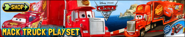 Disney Pixar Cars Mack Truck Playset