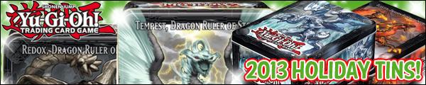 YuGiOh 2013 Holiday Tins
