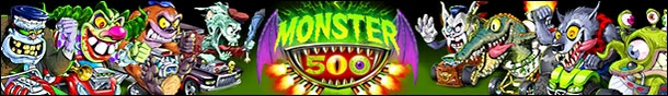 Monster 500 Toys & Figures