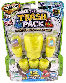 Trash Packs Series 5 Mini Figure 12-Pack  [Random Figures]