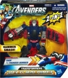 Marvel Avengers Movie Transformers Mech Machines Concept Series Action Figure Thor to Thunder Bomber