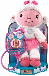 Disney Doc McStuffins 11 Inch Animated Plush Hearts a-Glow Lambie