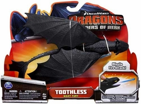 Dragons Defenders of Berk Action Figure Toothless {Night Fury} [Missile Fire Attack]