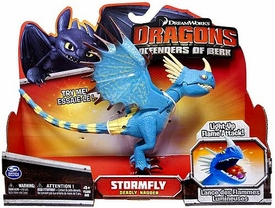 Dragons Defenders of Berk Action Figure Stormfly {Deadly Nadder} [Light-Up Flame Attack]