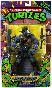 Teenage Mutant Ninja Turtles Classics Retro Action Figure Rocksteady