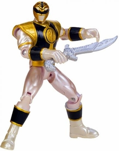 Power Rangers Megaforce Basic Action Figure Metallic Force Mighty Morphin White Ranger
