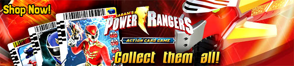 Power Rangers Megaforce Trading Action Card Game