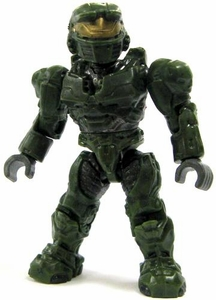 Halo Wars Mega Bloks LOOSE Mini Figure UNSC Green Spartan