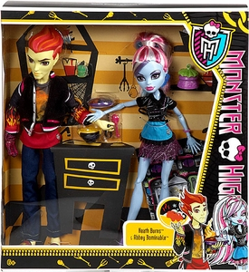 Monster High Classroom Doll 2-Pack Home Ick [Heath Burns & Abbey Bominable]