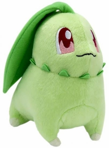 Pokemon TOMY Trainer's Choice Exclusive 8 Inch Plush Chikorita