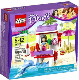 LEGO Friends Set #41028 Emmas Lifeguard Post
