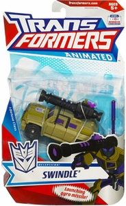 Transformers Animated Deluxe Figure Swindle