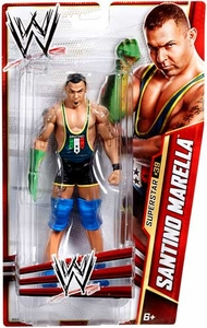 Mattel WWE Wrestling Basic Series 30 Action Figure #39 Santino Marella