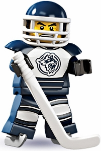 LEGO Minifigure Collection Series 4 LOOSE Mini Figure Hockey Player