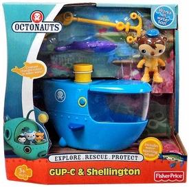Fisher Price Octonauts Vehicle & Figure Playset GUP-C & Shellington