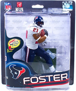 McFarlane Toys NFL Sports Picks Series 32 Action Figure Arian Foster (Houston Texans) White Jersey
