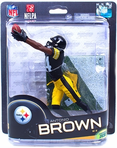 McFarlane Toys NFL Sports Picks Series 32 Action Figure Antonio Brown (Pittsburgh Steelers)