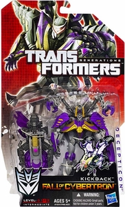 Transformers Generations Deluxe Action Figure Kickback