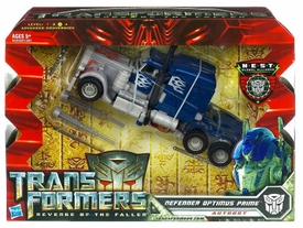 Transformers 2: Revenge of the Fallen Voyager Action Figure Defender Optimus Prime