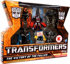Transformers 2: Revenge of the Fallen Exclusive Legends Action Figure 5-Pack Victory Of The Fallen [Fallen, Starscream, Jetfire, Megatron, Optimus Prime]