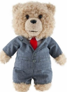 Ted Movie 8 Inch MINI Plush Figure with Sound Ted in Suit