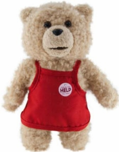 Ted Movie 8 Inch MINI Plush Figure with Sound Ted in Apron