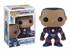 Funko POP! Iron Man 3 SDCC 2013 San Diego Comic-Con Exclusive Vinyl Figure James Rhodes [Unmasked Iron Patriot]