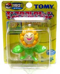 Pokemon Mini PVC Figure #192 Sunflora