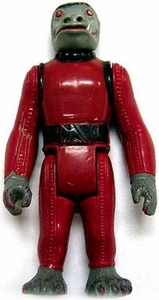 Star Wars 1978 Vintage  Snaggletooth Short Red Version  Loose Complete C-5 Condition