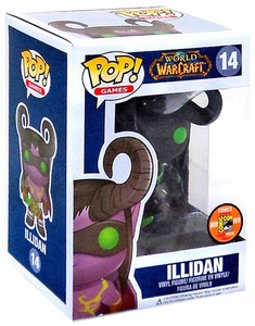 Funko POP! World of Warcraft SDCC Comic-Con Exclusive Vinyl Figure Illidan Only 1,008 Made!