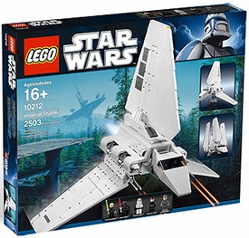 LEGO Star Wars Exclusive Set #10212 Imperial Shuttle Damaged Package, Mint Contents!