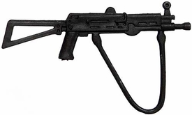 Generic 3 3/4 Inch LOOSE Action Figure Accessory Black Assault Rifle with Sling & No Magazine