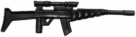 Generic 3 3/4 Inch LOOSE Action Figure Accessory Black High-Density Laser Rifle