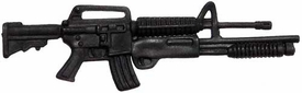 Generic 3 3/4 Inch LOOSE Action Figure Accessory Black M16 with Masterkey