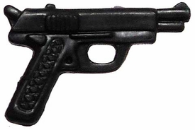 Generic 3 3/4 Inch LOOSE Action Figure Accessory Black Russian Style Pistol BLOWOUT SALE!