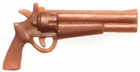 Generic 3 3/4 Inch LOOSE Action Figure Accessory Bronze Smith & Wesson Model 2 'Old Army' Pistol