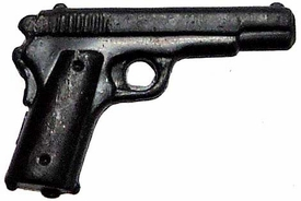 Generic 3 3/4 Inch LOOSE Action Figure Accessory Black Colt model M1911 Pistol