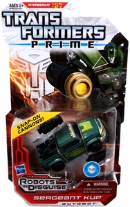 Transformers Prime Robots in Disguise Deluxe Action Figure Sergeant Kup [Snap-On Cannons!]