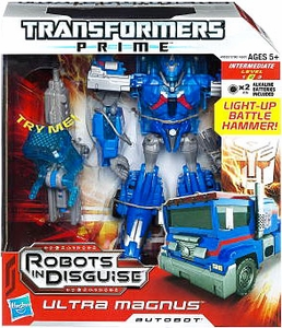 Transformers Prime Voyager Action Figure Ultra Magnus
