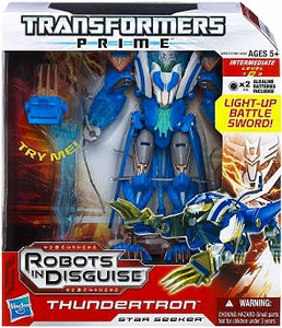 Transformers Prime Voyager Action Figure Thundertron