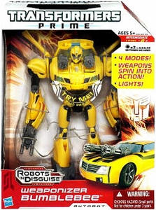 Transformers Prime Action Figure Weaponizer Bumblebee